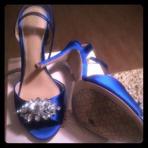 Badgley Mischka Hayden embellished shoes